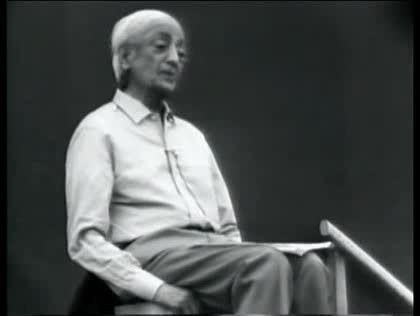 Jiddu Krishnamurti on Sex